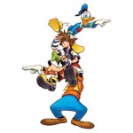 Kingdom Hearts III - Searching T-Shirt - L - Packshot 2