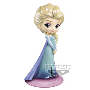 Disney - Frozen - Winter Elsa Glitter Q Posket Figure