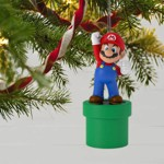 Nintendo - Super Mario - Mario Pipe Hallmark Keepsake Ornament - Packshot 2