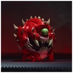 Official DOOM ® Cacodemon Collectible Figurine - Packshot 4
