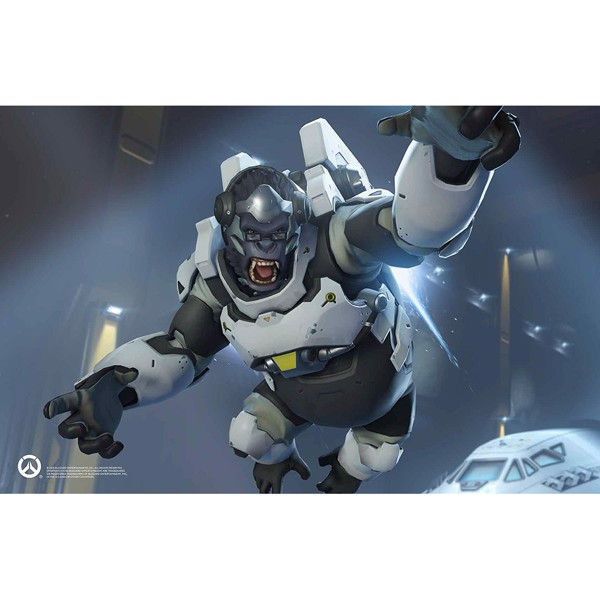 Overwatch - Winston Wood Model And Poster - Packshot 2
