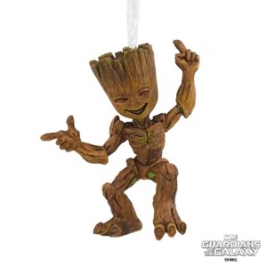 Marvel - Guardians of the Galaxy - Dancing Groot Hallmark Resin Ornament - Toys & Gadgets