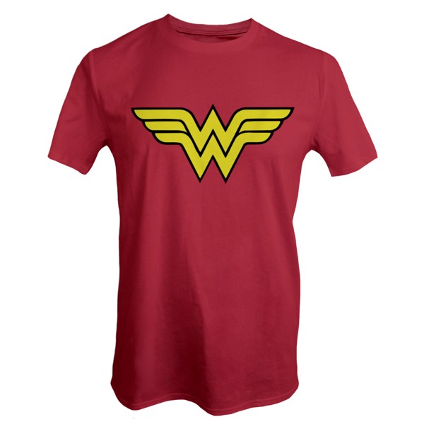 DC Comics - Wonder Woman Red and Yellow T-Shirt - Packshot 1