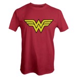 DC Comics - Wonder Woman Red and Yellow T-Shirt - S - Packshot 1