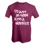 Star Wars - Kiss A Wookiee T-Shirt - Packshot 1