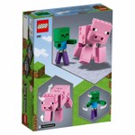 Minecraft - LEGO BigFig Pig with Baby Zombie - Packshot 6