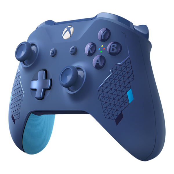 Xbox One Sports Blue Special Edition Wireless Controller - Packshot 2