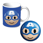 Marvel - Captain America - Mug and Stress Ball Gift Set - Packshot 1