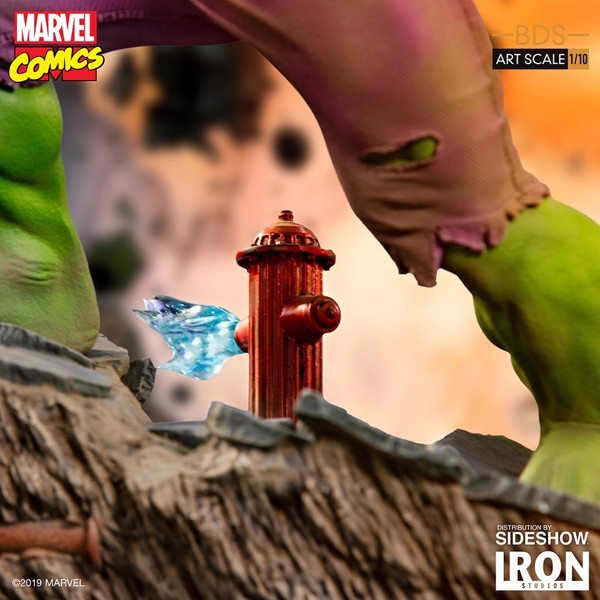Marvel - Hulk 1/10 Scale Statue - Packshot 3