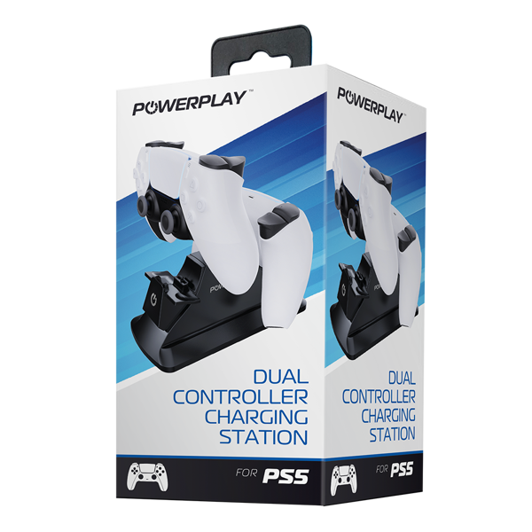 PowerPlay PS5 Dual Charge Station (Black) - Packshot 1
