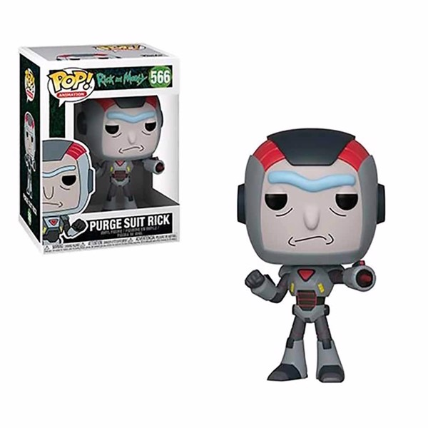Rick and Morty - Purge Suit Rick Pop! Vinyl Figure - Packshot 1