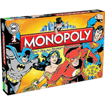 Monopoly DC Comics Originals Edition Board Game - Packshot 1