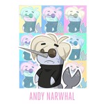 Andy Narwhal T-Shirt - XL - Packshot 2