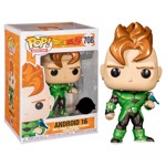 Dragon Ball Z - Android 16 Metallic Pop! Vinyl Figure - Packshot 1