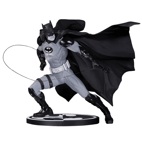 DC Comics - Batman By Ivan Reis (Black & White) Statue - Packshot 1