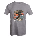 Catfood Sushi Run T-Shirt - Grey - Packshot 1