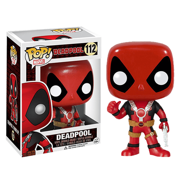 Marvel - Deadpool - Deadpool Thumbs Up Pop! Vinyl Figure - Packshot 1