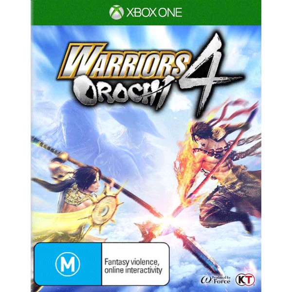 Warriors Orochi 4 - Packshot 1