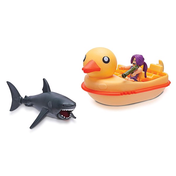 Roblox - Celebrity Sharkbite Duck Boat Vehicle - Packshot 1