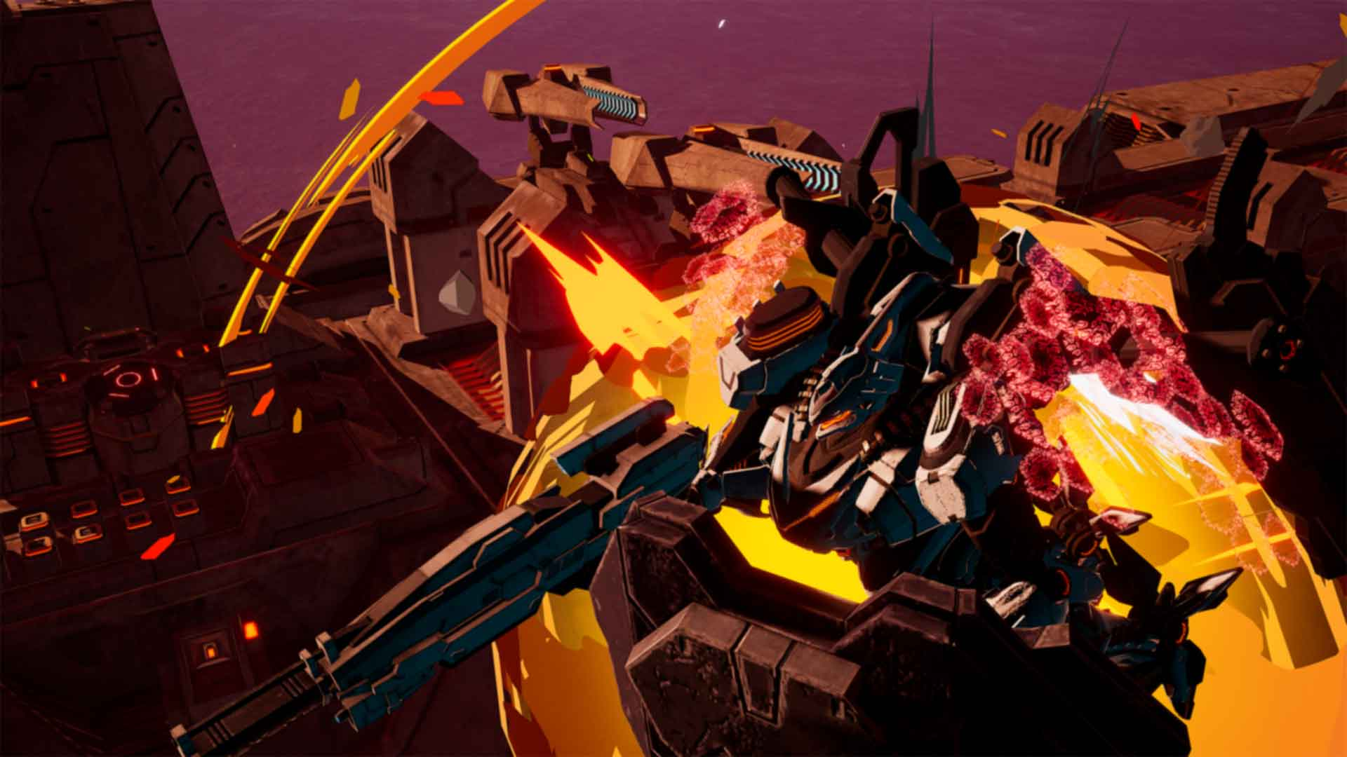 DAEMON X MACHINA - Screenshot 4