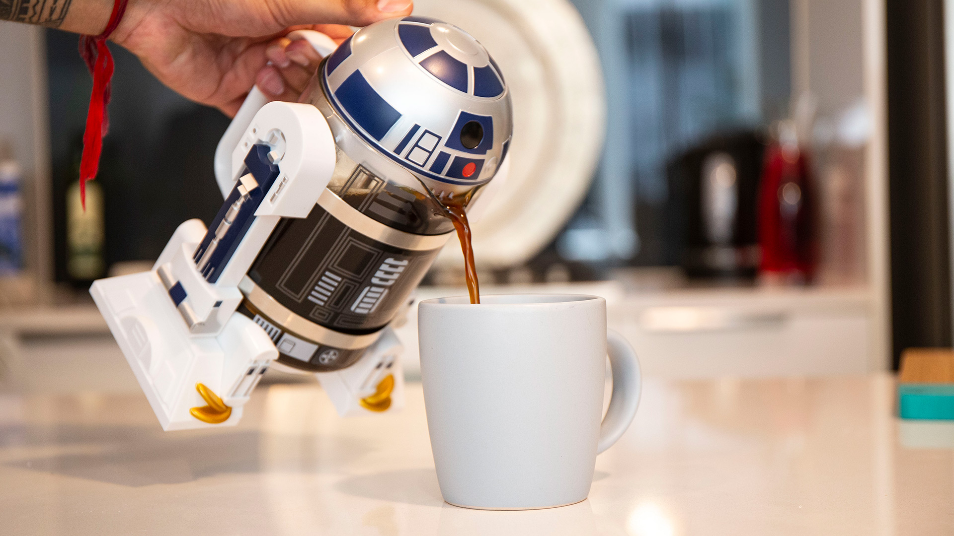 Star Wars - R2-D2 Coffee Press - Screenshot 3
