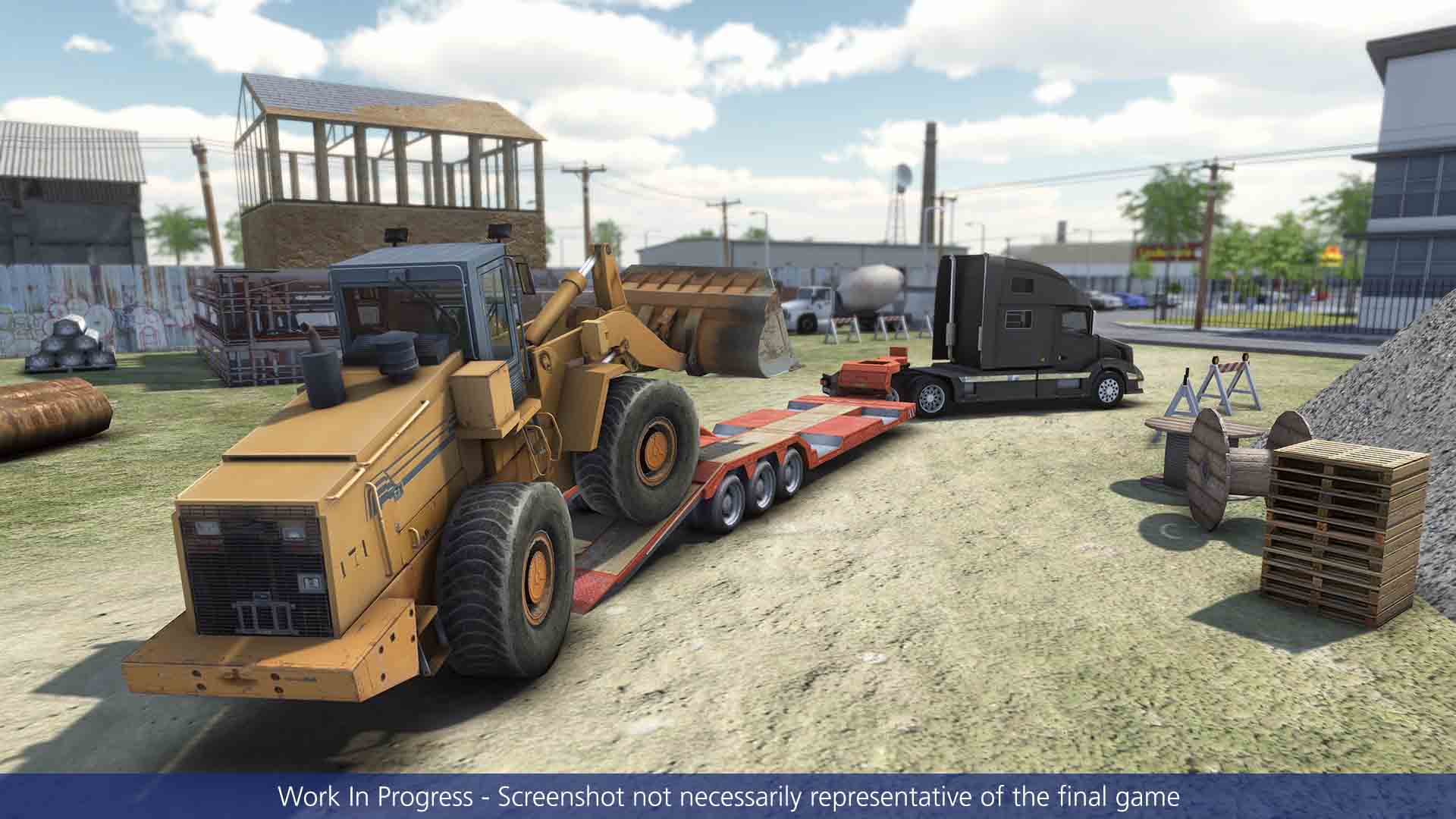 Truck & Logistics Simulator - Screenshot 2