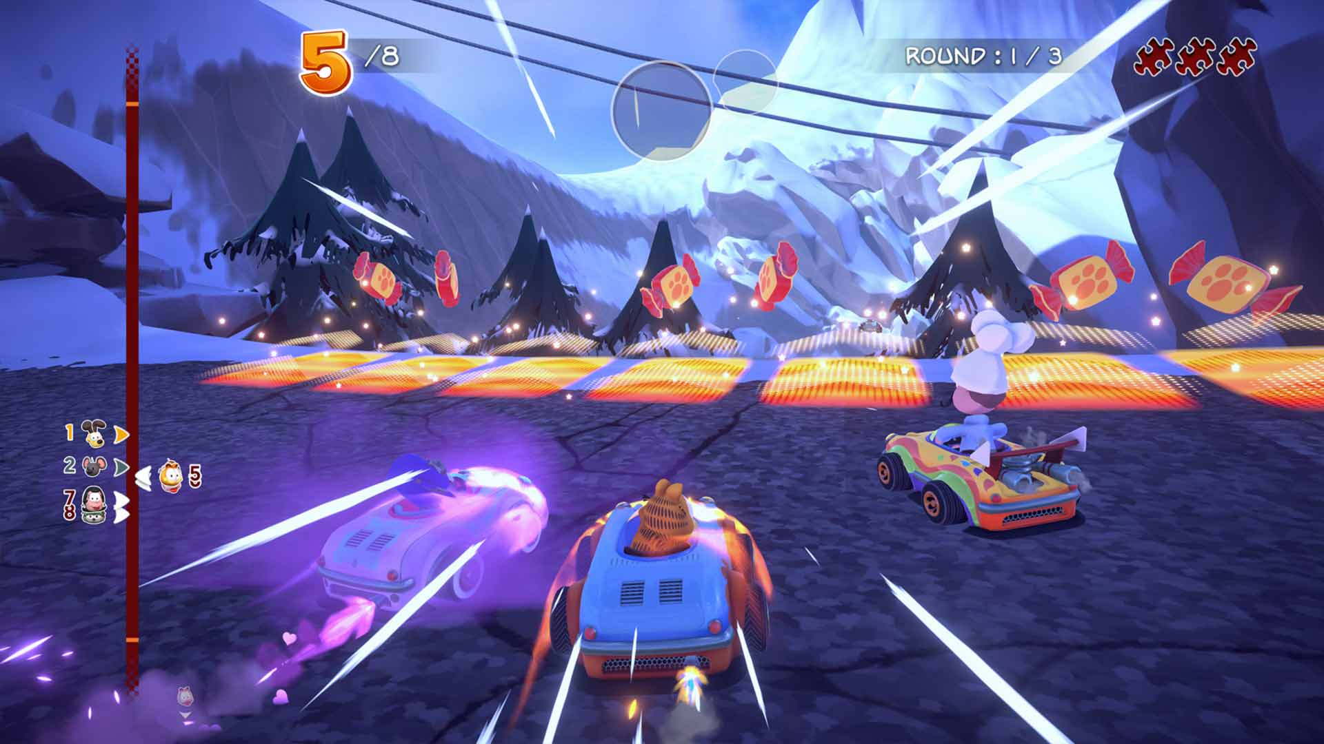 Garfield Kart: Furious Racing - Screenshot 5
