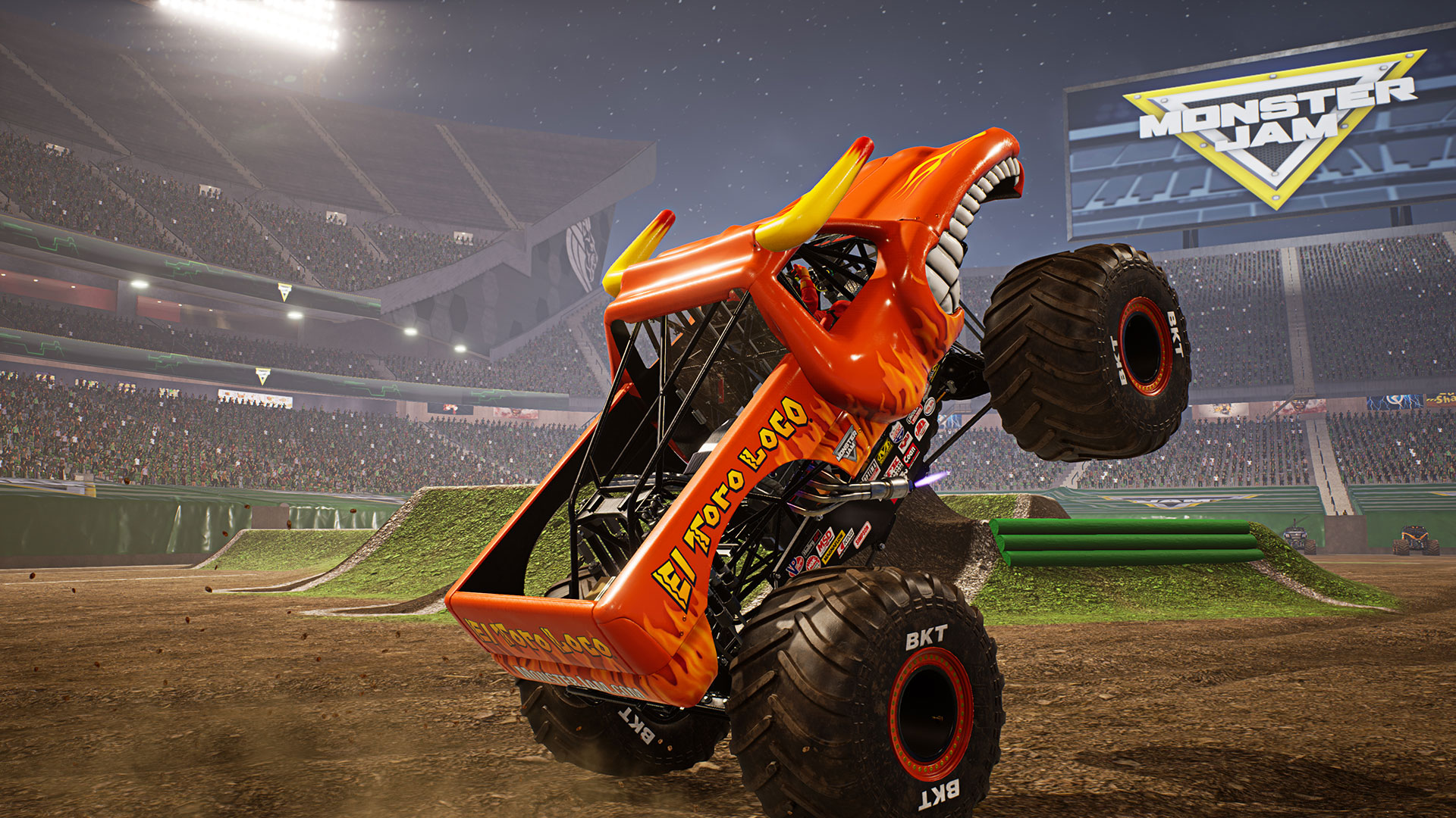 Monster Jam: Steel Titan - Screenshot 1