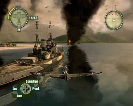Blazing Angels: Squadrons of WWII - Screenshot 1