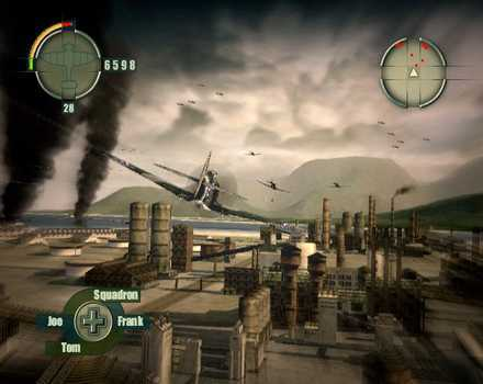 Blazing Angels: Squadrons of WWII - Screenshot 8