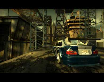 Need for Speed: Most Wanted (2005) - Screenshot 2