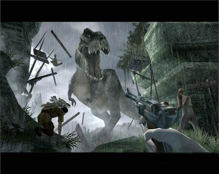 King Kong: The Offical Game of the Movie - Screenshot 1