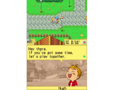 Harvest Moon DS - Screenshot 2