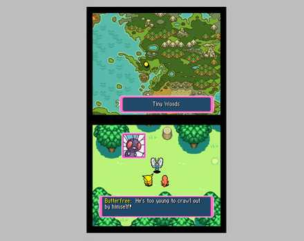 Pokemon Mystery Dungeon: Blue Rescue Team - Screenshot 2
