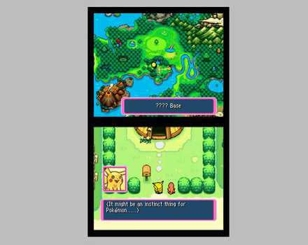 Pokemon Mystery Dungeon: Blue Rescue Team - Screenshot 4