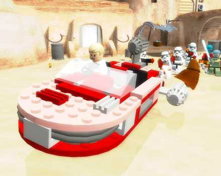 LEGO Star Wars 2: The Original Trilogy - Screenshot 3