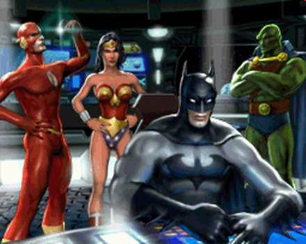 Justice League Heroes - Screenshot 1