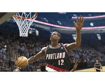 NBA Live 07 - Screenshot 1
