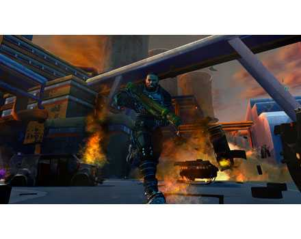 Crackdown - Screenshot 4