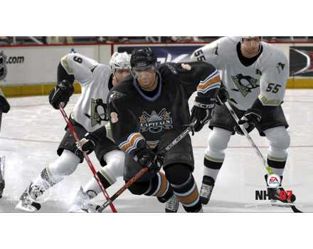NHL 07 - Screenshot 4
