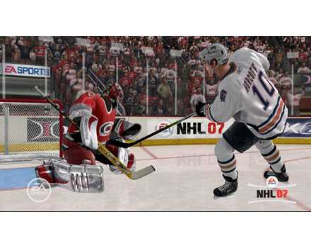 NHL 07 - Screenshot 6