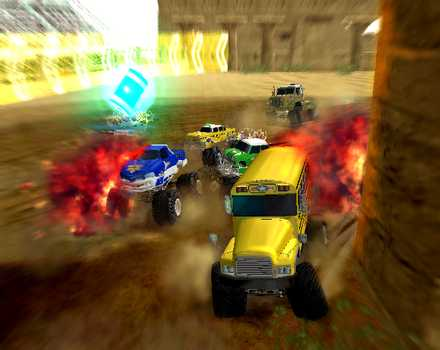 Monster 4x4: World Circuit - Screenshot 1