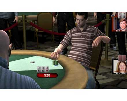 World Series of Poker: Tournament of Champions - Screenshot 2