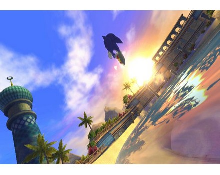 Sonic and the Secret Rings - Screenshot 1
