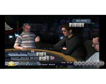 World Series of Poker: Tournament of Champs - Screenshot 1
