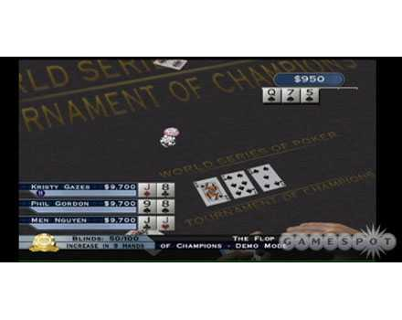 World Series of Poker: Tournament of Champs - Screenshot 2