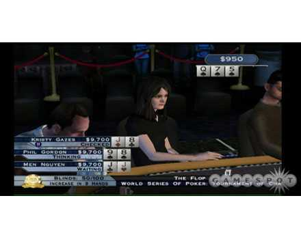 World Series of Poker: Tournament of Champs - Screenshot 3