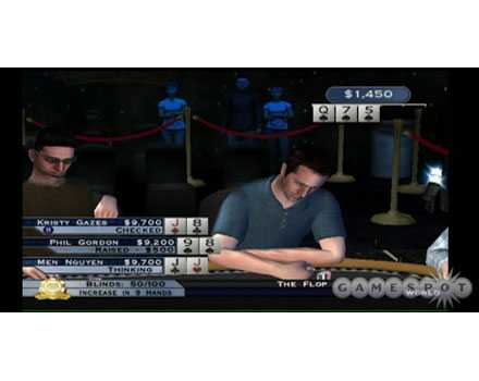 World Series of Poker: Tournament of Champs - Screenshot 4