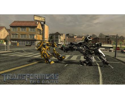 Transformers: The Game - Screenshot 1