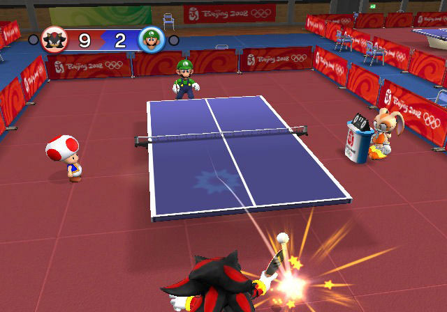 Mario & Sonic at the Olympic Games - Screenshot 1